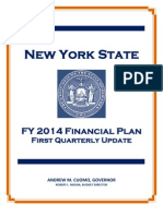 Fy 2014 First Quarterly Update
