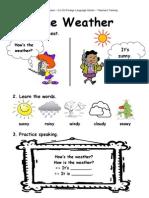 The Weather - Demo Lesson