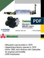 Mitsubishi S6S-DT Engine