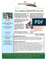 21 May 2009 Southern Caravan Newsletter