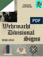 56768638 Wehrmacht Divisional Signs 1938 1945 Almark
