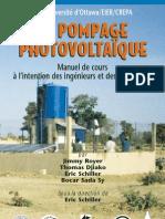 Pompage photovoltaique