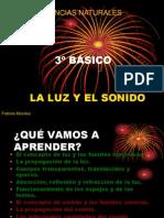 Cienicias 3º Básico - LUZ Y SONIDO