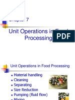 07 Unit Operations in Food Processing