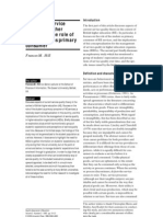 1995 Managing Service Quality in Higher Education the Role of the Student as Primary Consumer
