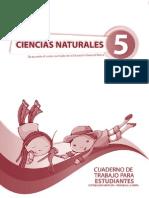 Cuaderno Naturales Quinto Ano