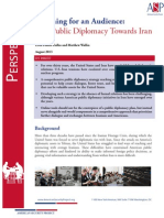 US Public Diplomacy Towards Iran