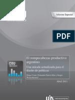 Coatz Et Al - El Rompecabezas Productivo Argentino