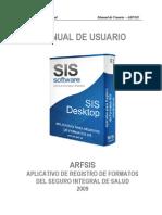 Manual de Usuario ARFSIS 2.1