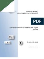 Calidad Aire Bogota Informe-SDA-2012