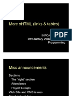 Lecture 05 - XHTML
