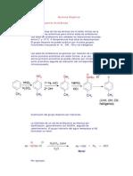 Quimica Ocho Sales de Diazonio Aromaticas