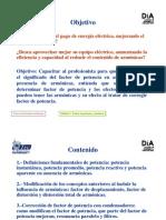 Modificacion de Factor de Potencia y Armonicas1