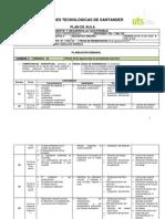 Plan de Aula Ambiente y Desarrollo II-2013