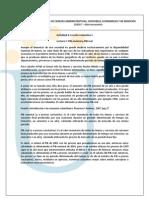 Lecturas Leccion 1 2012-2