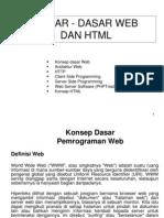 Dasar Web Dan HTML