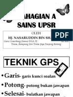 TEKNIK MENJAWAB SOALAN SAINS B UPSR