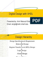 Digital Design With VHDL I
