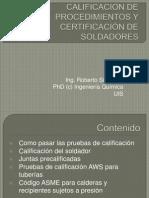 Certificacion de Soldadores