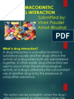Pharmakokinetic Drug Interaction