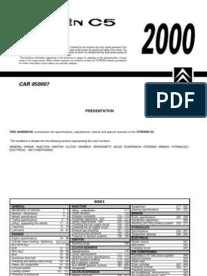Citroen C5 1.8 2.0 HPi 16V Silencer Exhaust System 222