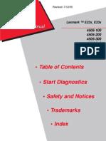 Lexmark e330 Service Manual