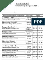 Examenes Julio-Agosto 2013