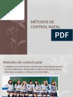 Metodos de Regulacion Natal
