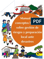 Gestion de Riesgos, Manual