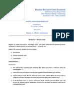 A. Ekistic Units Module Outline