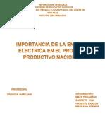 La energía eléctrica como industria básica de Venezuela (1)