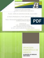 Situacion Energetica de Mexico(Presentacion)