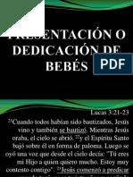 PRESENTACIÓN DE BEBÉS