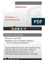 Tema 3 - Deadlock - Transparencia 1