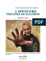 Spencers Playbill