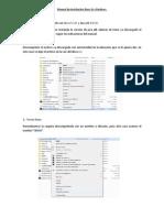 Manual de Instalación Jboss En Windows