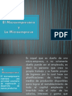 El Microempresario y