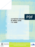 UNESCO - Las políticas educativas de América Latina y el Caribe REV