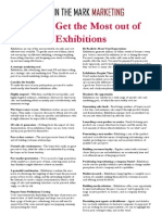 Get the Most Out of Exhibitions Copy