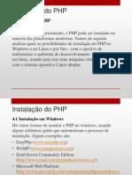 4 - Instalacao Do PHP