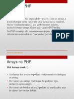 10- Arrays No PHP