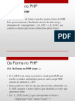 13 - Os Forms no PHP