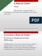 17 - Conexoes a Bases de Dados