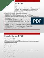 19 - Introducao Ao PDO