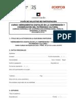 FICHA DE INSCRIPCIÓN - SEMINARIO HERRAMIENTAS DIGITALES EN LA COMPRENSIÓN Y CONSERVACION DEL PATRIMONIO CULTURAL (1).doc