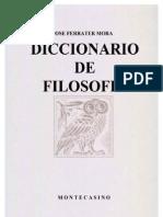 Diccionario de Filosofía - José Ferrater Mora [C78]