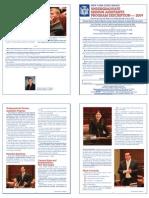 2009 USA Program Description