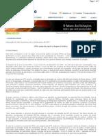 Anexo 1.8 - Reportagem - PPPs saem do papel e chegam à Justiça - Caso MG 050 - Versão Final