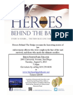 Heroes Behind the Badge Screening Flyer (2)