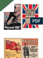 Primary Document Set-Canadian Recruitment Propaganda